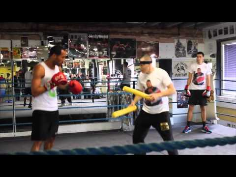 JAMES DeGALE OFFICIAL MEDIA WORKOUT AHEAD OF IBF WORLD TITLE CLASH WITH ANDRE DIRRELL / iFL TV