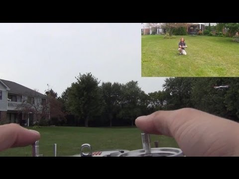 Blade 350QX Smart & Stability Mode Demo With GoPro Attached!