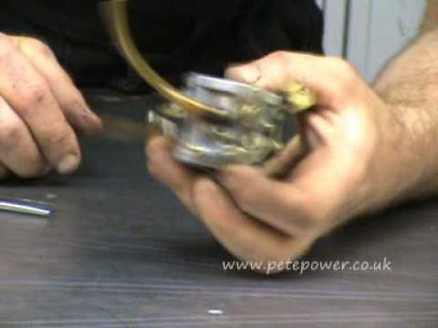 Honda EX650 generator repairs carb clean part 1.wmv