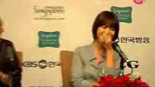 Song Hye Kyo - Worlds Within press conference in Singapore