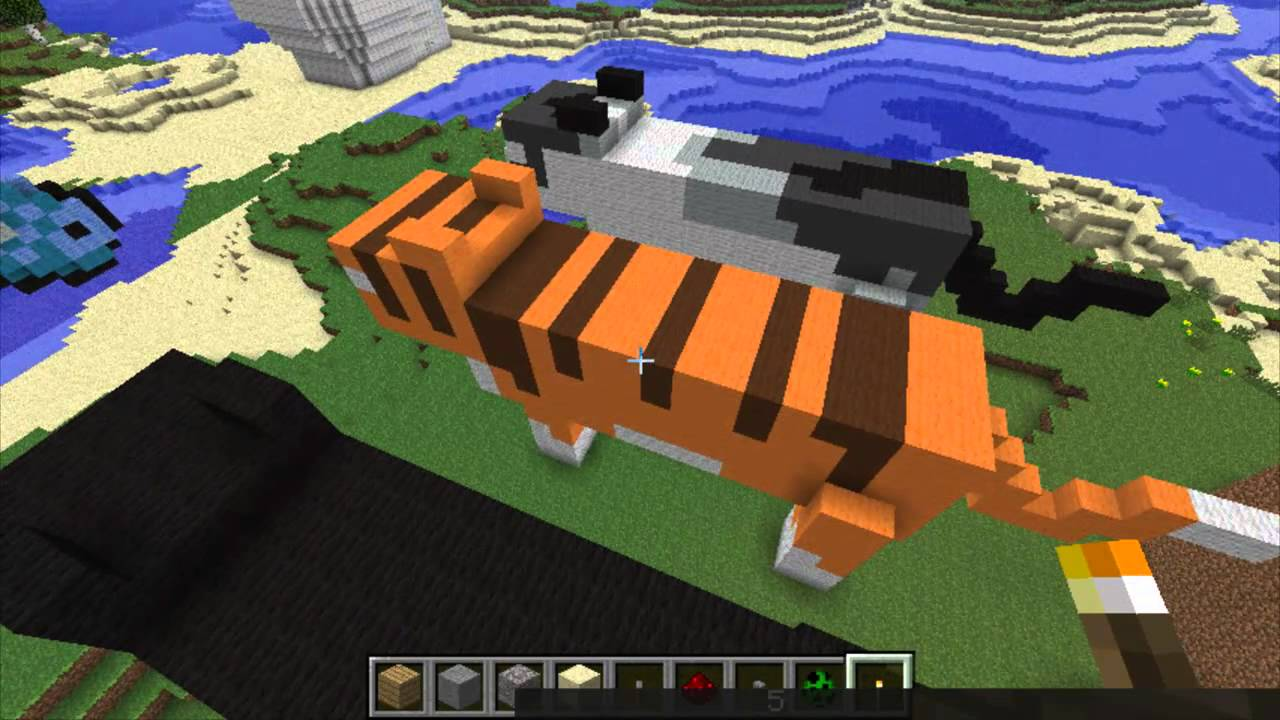 minecraft how to find a cat