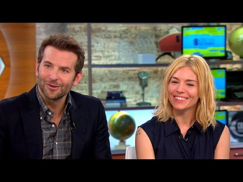 "Bradley Cooper and Sienna Miller talk new movie ""Burnt,"" Hollywood pay gap"