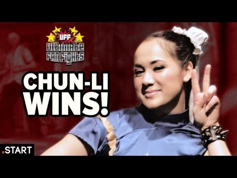 Chun-Li Wins! - Ultimate Fan Fights Ep. 5 (Chun-Li vs. Tifa)