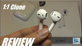 REVIEW: Wiwu Airbuds IV - i10 TWS - AirPods Clone (1:1)