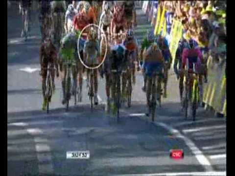 Mark Cavendish Tour de France 2010 (wins 5 stages - sprint)