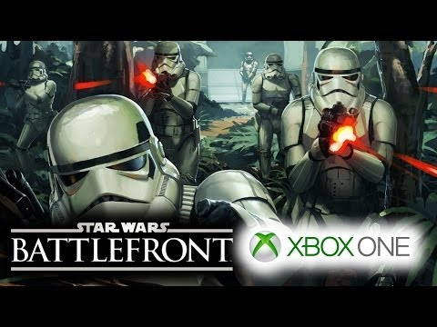 Star Wars Battlefront 3 (SWBF 2014-2015) E3 Gameplay Trailer To Appear on XBOX ONE Stage!