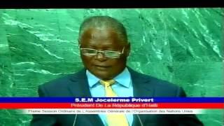 Diskou Prezidan Repiblik la nan okazyon 71èm Asanble Jeneral ONU