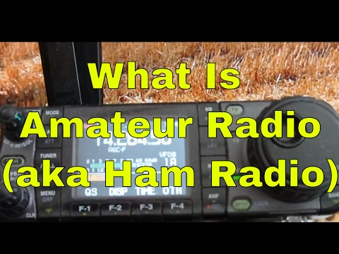 What Is Amateur Radio (Ham Radio)