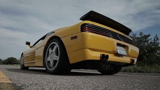 The 610 WHP Twin-Turbo, Flamespitting Ferrari 348 Challenge