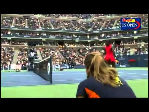 Serena Williams FIGHT   TENIS   US Open 2011