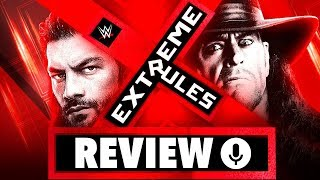 WWE Extreme Rules 2019 Review - SCHUBSEREI! (Wrestling Podcast Deutsch)