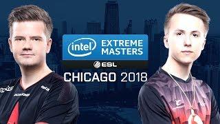 CS:GO - Astralis vs. mousesports [Train] Map 1 - Quarterfinals - IEM Chicago 2018