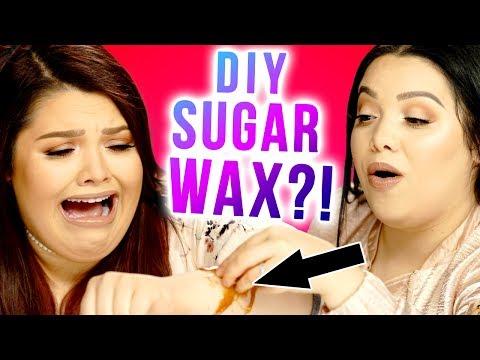 DIY *CRINGEY* SUGAR WAX?! Makeup Mythbusters w/ Karina Garcia & MayraTouchOfGlam