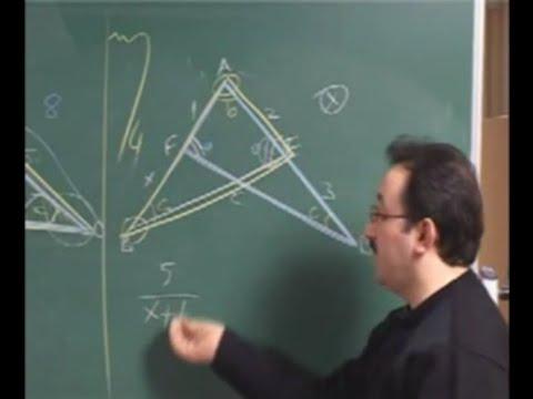 Geometri - 11. Üçgende Benzerlik - 1