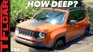 Deep MUD: Can The 2020 Jeep Renegade Trailhawk Be As Fun As A Wrangler Off-Road?