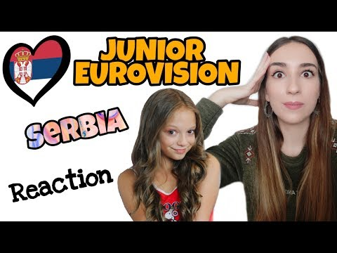 JESC REACTION | SERBIA | Darija Vračević - Raise Your Voice | Junior Eurovision 2019