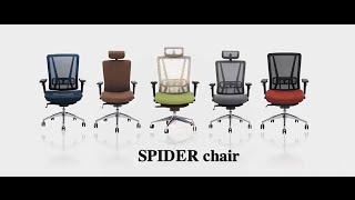 Lựa chọn ghế văn phòng tốt cho sức khỏe - Ghế SPIDER