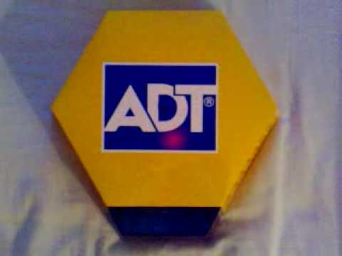 Adt Alarm Bell Box With Flashing L E D S Youtube