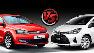 2hp: Toyota Yaris Vs Volkswagen Polo