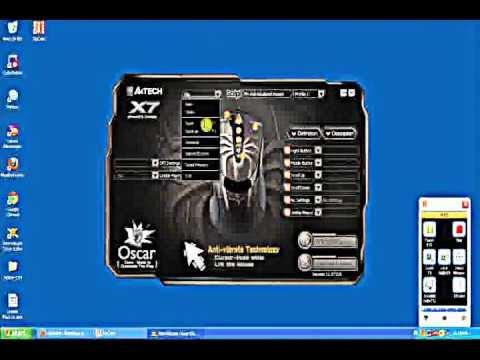 setting mouse macro X7 747H
