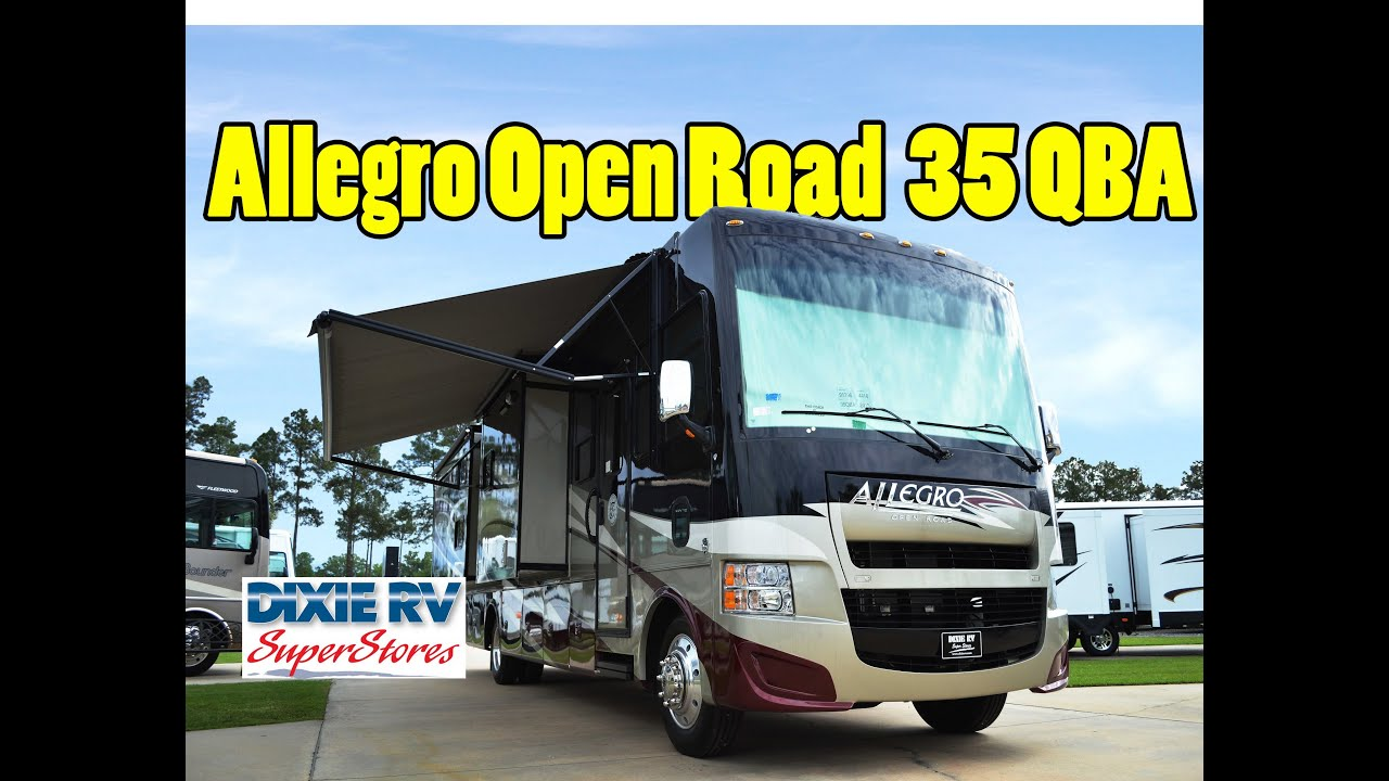 2013 Tiffin Allegro Gas Open Road 35 Qba For Sale At Dixie
