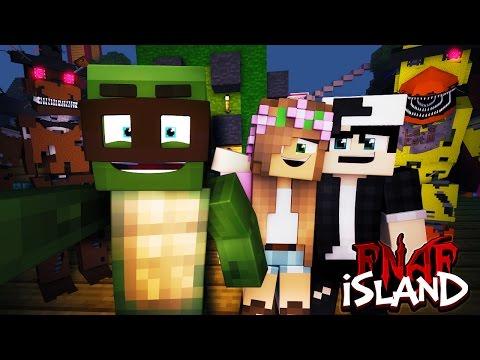 Minecraft - FNAF ISLAND #1 FREDDY FASBEAR'S HOTEL! (Five nights at freddy's roleplay)