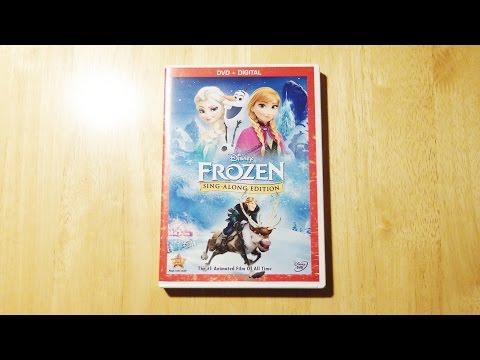 Disney Frozen Sing Along DVD | Digital Copy Unboxing & Review