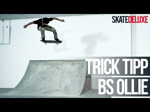 Skateboard Trick Tipp: Backside Ollie | Deutsch/German | skatedeluxe