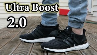 Adidas Ultra boost 2.0 On-Feet & Close Up w/ Different Pants
