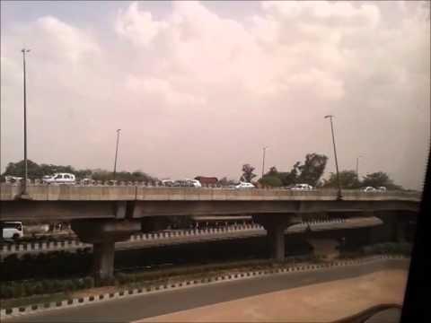 Delhi Airport Express Metro Journey - Must Watch