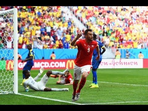Switzerland vs Ecuador 2014 FIFA World Cup Results