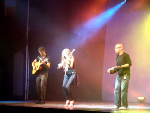 Sierra Noble, Lindsey Bart, and Scott Senior LIVE @ Folklorama 2010