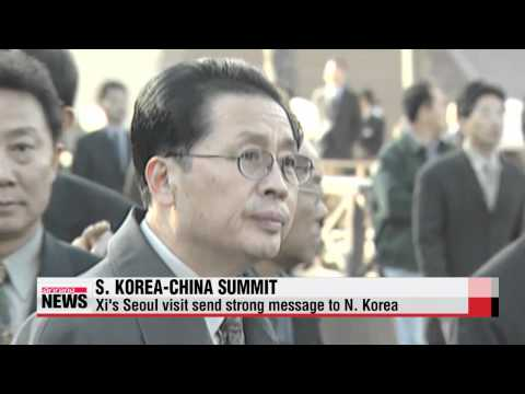 Chinese President Xi Jinping's visit to Seoul before N. Korea signals change in..