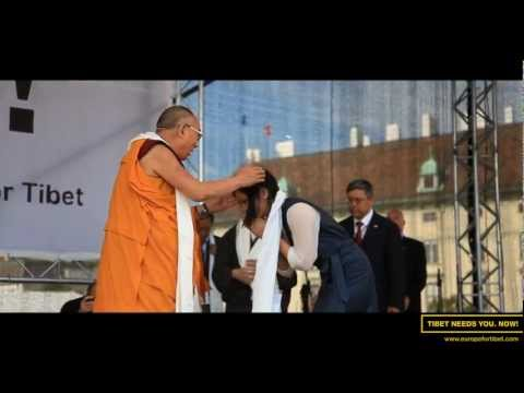 His Holiness the Dalai Lama in Vienna | Europe for Tibet | TenzFilmz