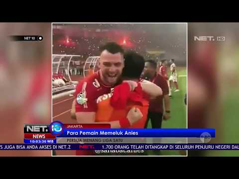 Usai Kemenangan, Para Pemain Persija Peluk Anies Baswedan- NET 10