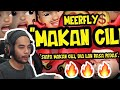 "MeerFly - ""MAKAN CILI"" [OFFICIAL LYRICS VIDEO] -  Shaf React!"