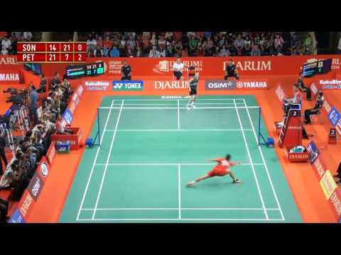 Sony Dwi Kuncoro (INA) VS Peter Hoeg Gade (DEN) Djarum Indonesia Open 2012