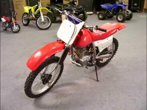 2001 Honda XR200R - YouTube