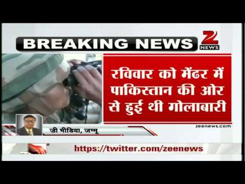 Pakistan violates ceasefire in Poonch, Indian Army retaliates