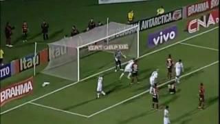 Santos 1 x 1 Atlético-GO - Brasileirão 2011