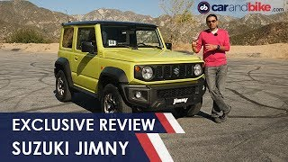 Exclusive: Suzuki Jimny 4x4 Review | NDTV carandbike