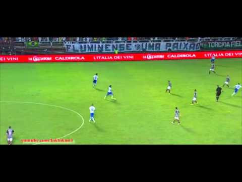 Andrea Pirlo vs Fluminense || Friendly Match||  09/06/2014