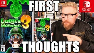 LUIGI'S MANSION 3 (First Thoughts) - Happy Console Gamer