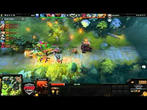 Alliance vs 4ASC Game 2  joinDOTA MLG Pro League Season 2  TobiWanDOTA BlazeCasting
