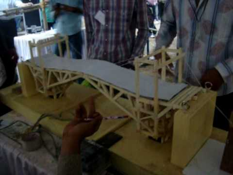 Bascule Bridge Winner Iit Bombay Techfest 2010 Youtube