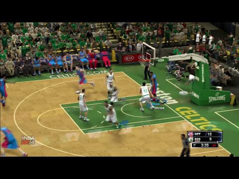 NBA 2K14 | ¿Cómo juego yo? #4 - Pedir bloqueos, generar ventajas.