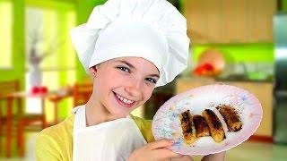 Вкусные рецепты от Лучшей Подружки Светы! Жареные БАНАНЫ! Игры готовить вкусняшку. Готовим дома.