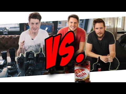 DNER Kamera & Vlog Equipment vs. UNSERE TECHNIK!
