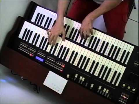 TX-5 - Organ over 52 - Pop Piano Guitar Backing Track In E Major C# Minor