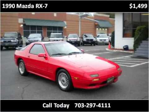 1990 Mazda RX-7 Used Cars Fairfax VA